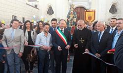 SMAV – In sindaco Andrea Pirozzi: La benedizione della SS. Assunta su Piazza Aragona mi ha emozionato