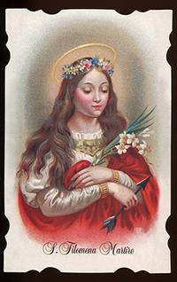 Santa Filomena si festeggia l'11 o il 13 agosto?