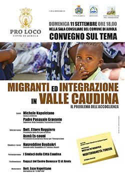 Airola: Convegno su I migranti