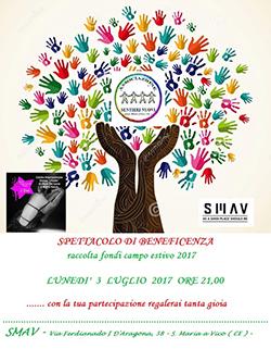 SMAV – Sentieri Nuovi: spettacolo di beneficenza