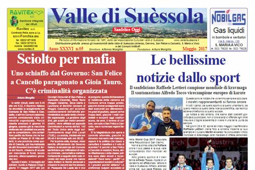 In distribuzione il numero di maggio di Valle di Suèssola